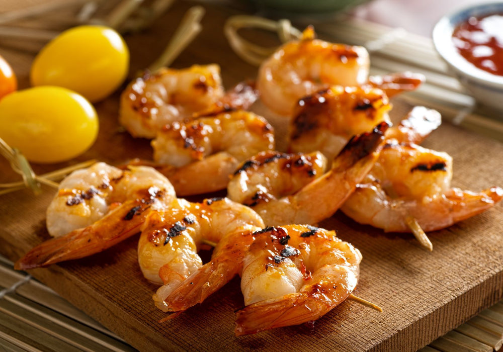 Load image into Gallery viewer, Fresh Harvested Jumbo Peeled and Deveined Sun Shrimp