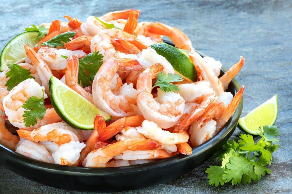 Load image into Gallery viewer, Fresh Harvested Large Peeled and Deveined Sun Shrimp - Family 10 Pack Includes Free Shipping P&D Shrimp Sun Shrimp