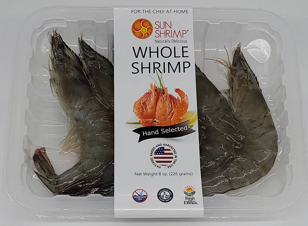 Fresh Jumbo Whole Sun Shrimp