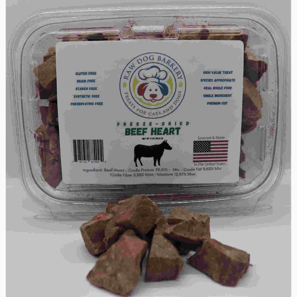 Raw Dog Barkery Beef Heart