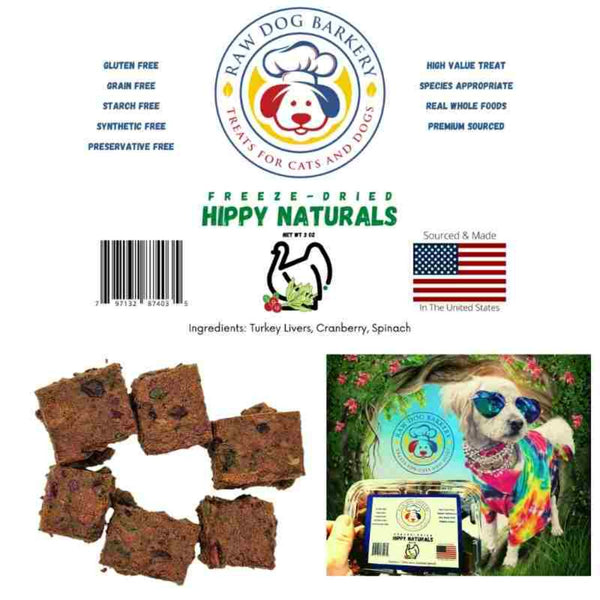 Raw Dog Barkery Hippy Naturals