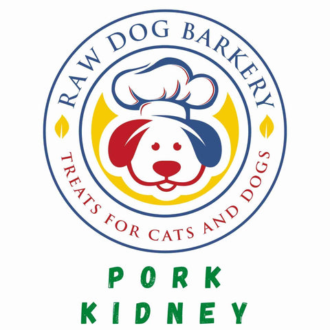 Raw Dog Barkery Pork Kidney 3oz