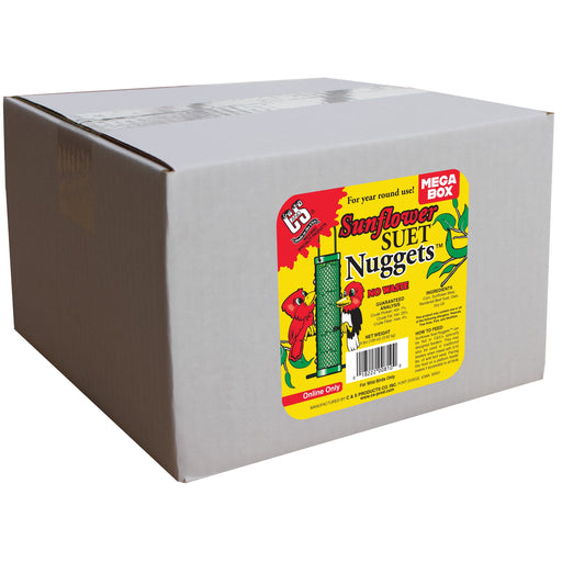 "Product image for Sunflower Suet Nuggets ""Mega Box"""