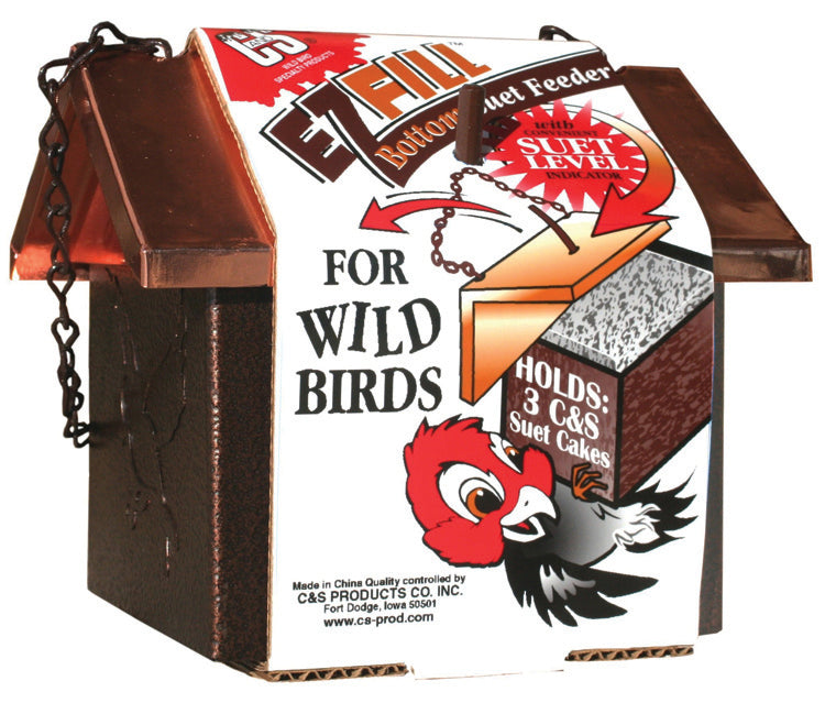 EZ Fill Bottom Suet Feeder