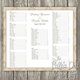 Damask Seating Chart 03490