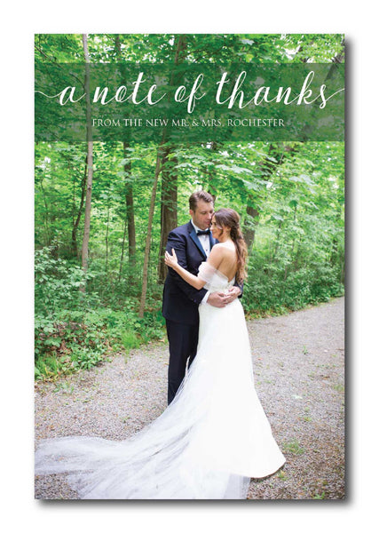 Photo Thank You Card 1336