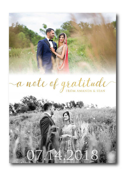 Photo Thank You Card 1337