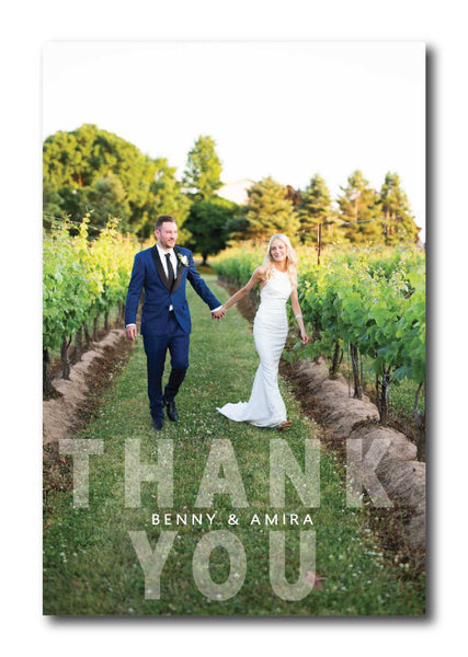 Photo Thank You Card 1340