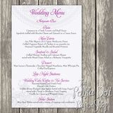 Wedding or Special Event Menu 0369