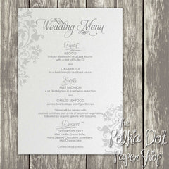 Wedding or Special Event Menu 0368