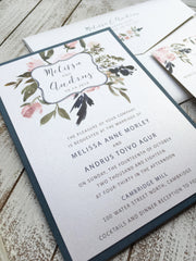 Wildflowers Wedding Invitation 63889