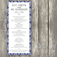 Wedding or Special Event Menu 0392