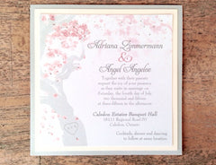 Elegant Manzanita Tree Flat Invitation 0182
