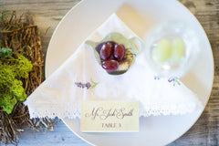 Place Cards customized with guest name and optional table number Place Card 0816