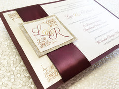 The Back Pocket Monogram - Glitter Edition (Pocketcard) 1604