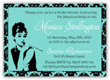Breakfast at Tiffany's Fabulous Bridal Shower Invitation 0267