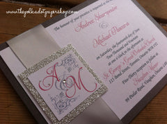 The Back Pocket Monogram - Glitter Edition (Pocketcard) 0155