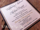 Aphrodite Swirl Wedding Invitation 0183