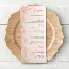 Wedding or Special Event Menu 0685