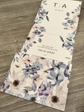 Dusty Wild Roses All-in-One Wedding Invitation 124578