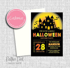 Halloween Child Party Invitation 549063