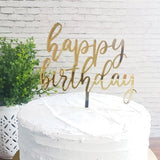 Happy Birthday Cake Topper 7236