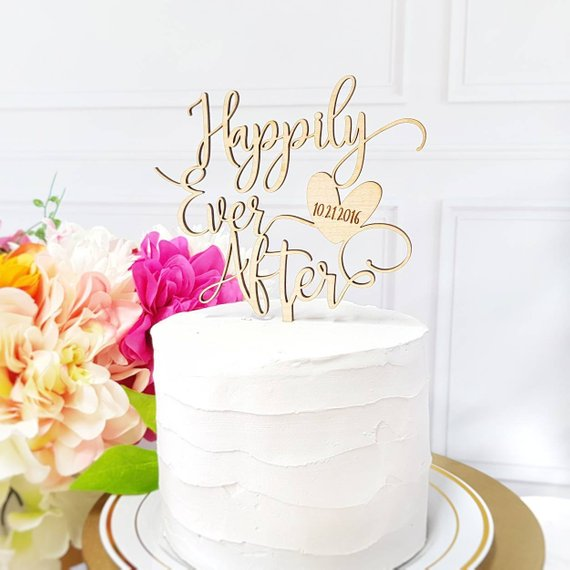 Happily Ever After Cake Topper 7231