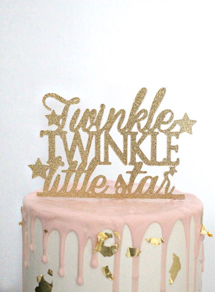 Twinkle Twinkle Little Star Cake Topper 7221