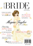 High Fashion Magazine Cover Themed Bridal Shower Invitation 0258