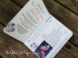 The Passport Destination Wedding Invitation 0296
