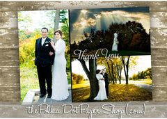 Photo Collage Thank You Card 0346