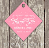 Pack of 50 Cute Kitchen Themed Bridal Shower Thank You Tags with Whisk 0281