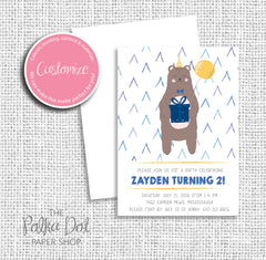 Beary Good Birthday Child Birthday Party Invitation 549061