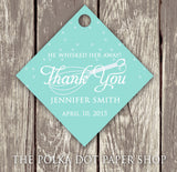 Pack of 50 Cute Kitchen Themed Bridal Shower Thank You Tags with Whisk 0282