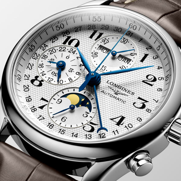 Longines - Master Collection Chronograph Mondphase Face