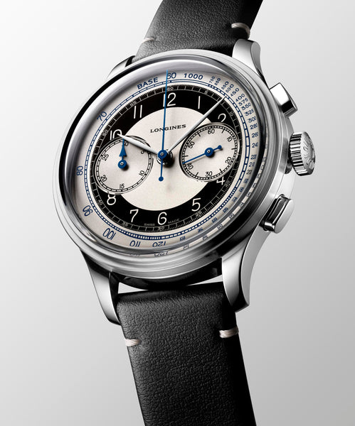 Longines - Heritage Classic Chronograph seitlich