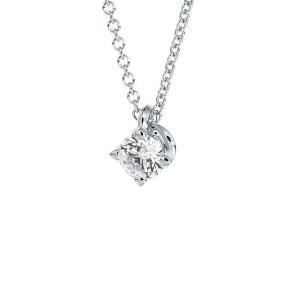 Forevermark-Collier-Diamant-Solitaire-Anhaenger-Weiss-Gold-diagonal