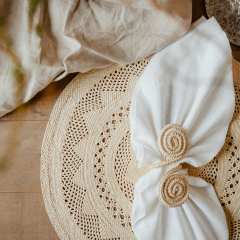 Sandra Napkin Rings - The Colombia Collective