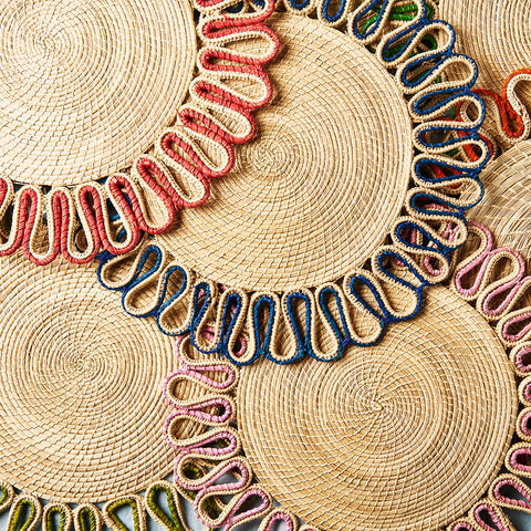 Estrella Woven Placemats - The Colombia Collective
