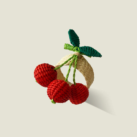 Palmito Fruity Napkin Rings (Set of 4) - The Colombia Collective