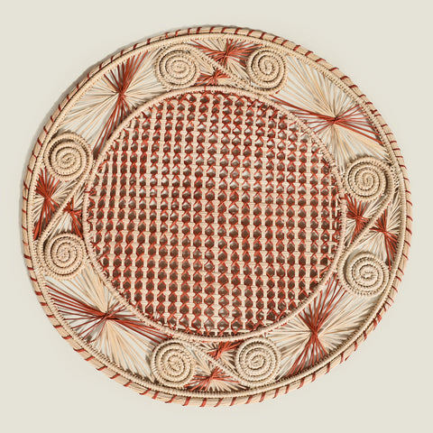 the colombia collective - sandra woven placemats