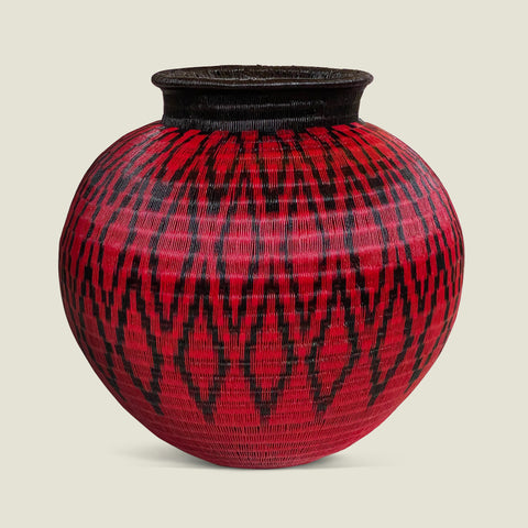 Werregue Woven Urn - The Colombia Collective