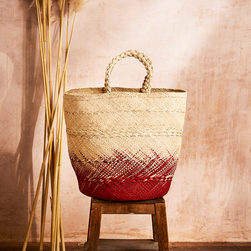 Nariño Woven Basket Bag - The Colombia Collective