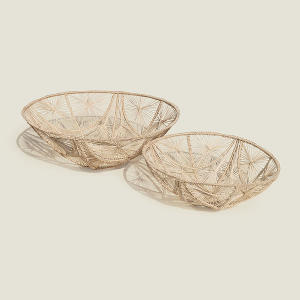 Carmen Hand Woven Bowl - The Colombia Collective