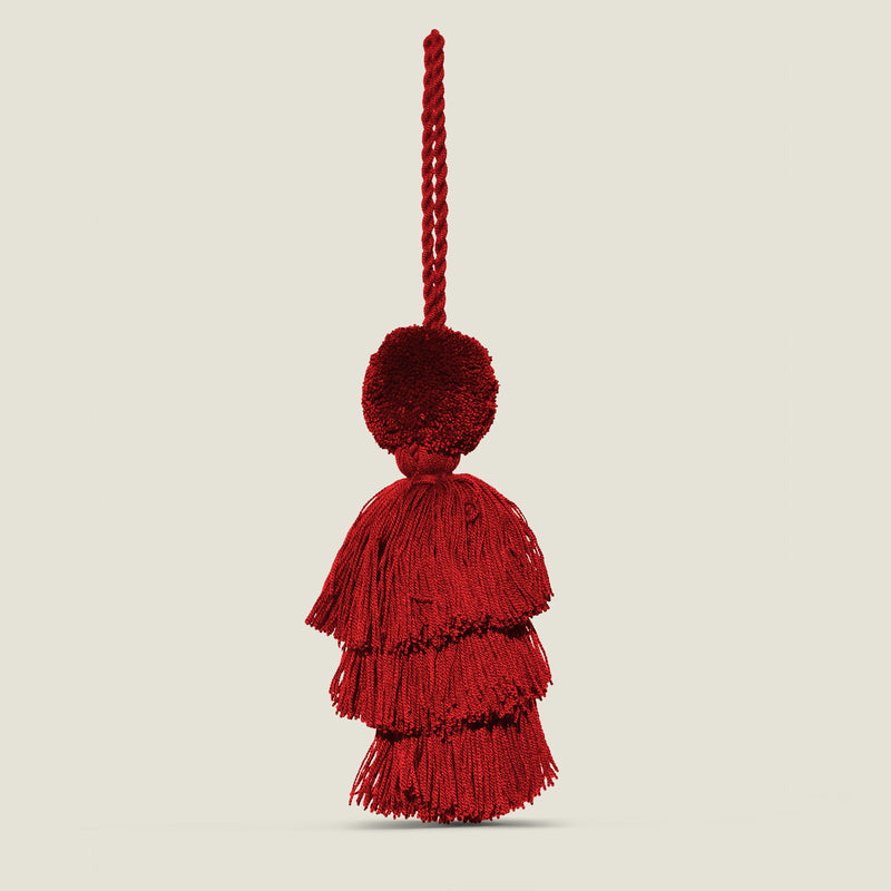 Wayuu Pom Pom Tassel - The Colombia Collective