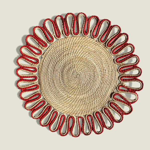 Estrella Woven Placemats (Set of 4) - The Colombia Collective