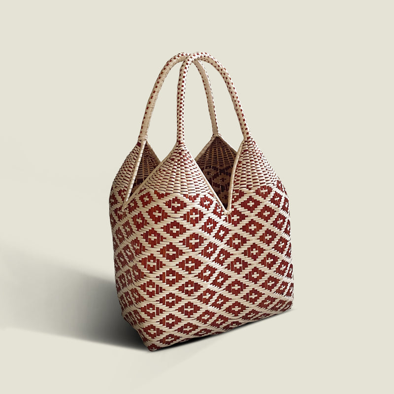 Guapi 40cm Cuatro Tetas Basket Bag - The Colombia Collective