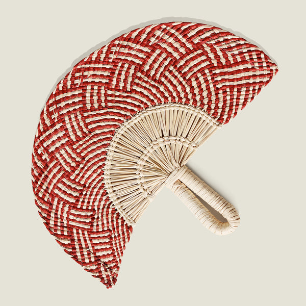 Nariño Woven Fan - The Colombia Collective