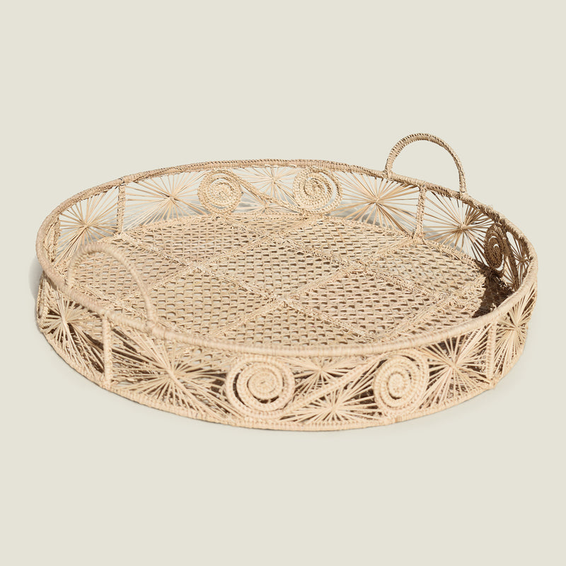 Sandra Woven Tray - The Colombia Collective