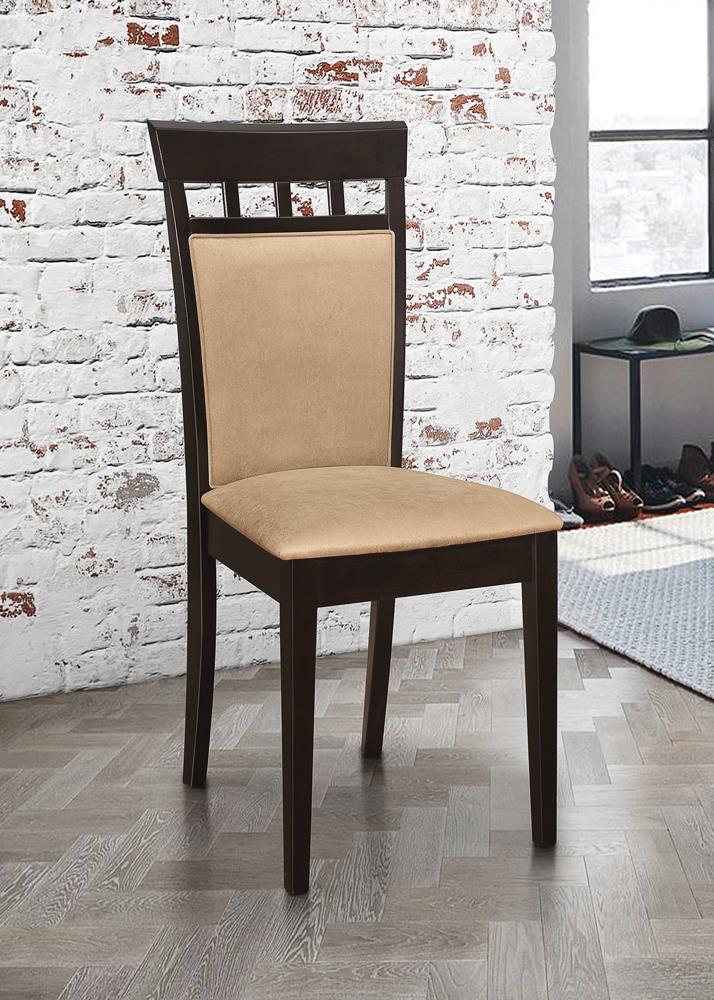 Gabriel Casual Beige and Cappuccino Dining Chair image